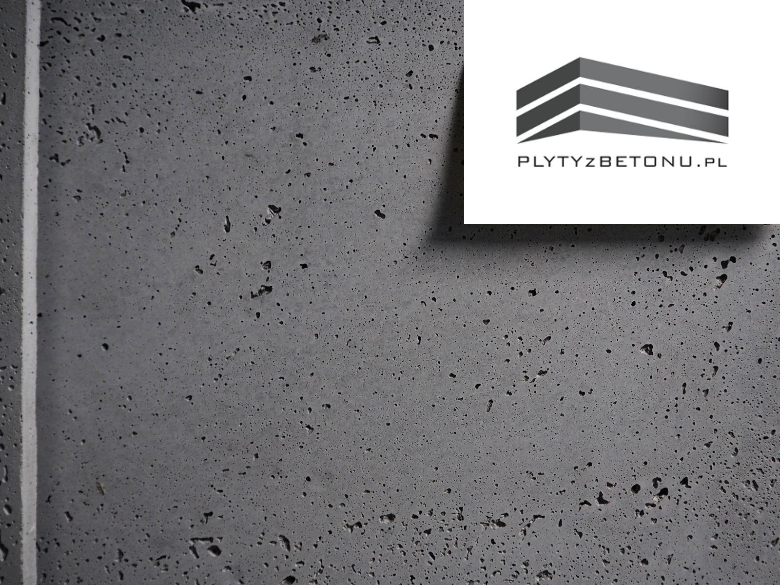 Plyta betonowa Szara naturalna Beton architektoniczny